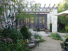 The Modern Garden Outdoor Spaces, Outdoor Living, Outdoor Ideas, Backyard Ideas, Screened Porch Designs, Screened Porches, Modern Pergola, Amazing Spaces, Garden Spaces