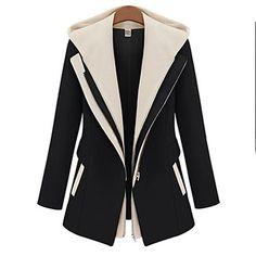 Women's Slim Tweed Coat