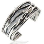 Zilveren armband Cuff Bracelets, Bangles, Cuffs, Men's Fashion, Candy, Rings, Silver, Accessories, Moda Masculina