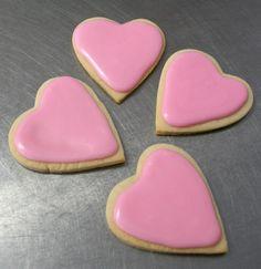 Sweet Ruminations Heart Cookies