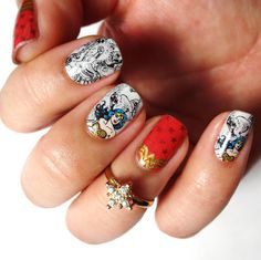 Lacquered Lawyer | Nail Art Blog: Save The World