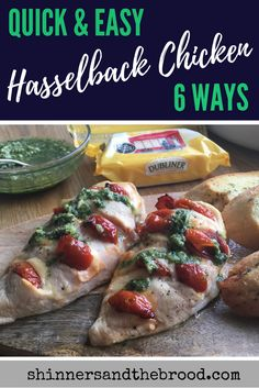 Make that chicken breast work for everyone in the family, even the fussy eaters. Mix and match fillings but don't forget the all-important Dubliner Cheese! Dubliner Cheese, Slow Cooker Recipes, Cooking Recipes, Hasselback Chicken, Chicken Stroganoff, Fussy Eaters, Yummy Food, Yummy Recipes, One Pot Meals