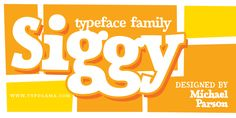 Siggy by Typogama on @creativemarket