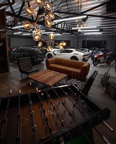 Awesome Industrial Style Decor Designs That You Can Create For Your Urban Living Space Apartment Industrial Design – garage