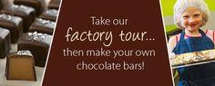 Lake Champlain Chocolates, 750 Pine St, Burlington, Vermont - Factory Tour www.lakechamplainchocolates.com