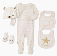 Baby Neutral Clothes | Layette | Looking for gender neutral gifts? Check out The Children's Place baby shop for sweet gifts in neutral colors that are perfect for baby boy or girl!