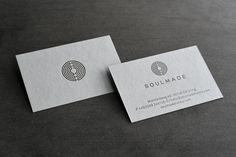 Drucktechnik: Letterpress Papier: Colorplan Real Grey (700 g/qm) Kunde: Soulmade Hotels #soulmade #soulmadehotels