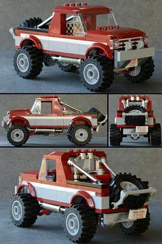 4x4 Truck. Legos I love em. I just might have to buy this set for my grandson.