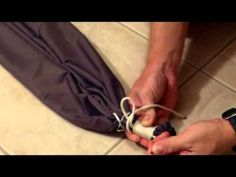Two easy nylon hammock designs for you to make. One very simple hammock suspension system demonstrated. Simple knots. Simple explanations. Outstanding end result! Check it out.