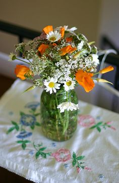 photo by Frontier Dreams on flickr #wildflowers #flowers #bouquet #summer