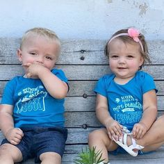 "Our ""Nothing makes me"" tees are absolutely perfect for singletons, siblings, and twins! There is more to boys than being brave and strong, and more to girls, than being cute and pretty. ""Nothing makes me more dashing than my heart and soul."" ""Nothing makes me more beautiful than my confidence and strength."" Otwinsclothingco.com"