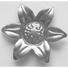 "6 Petal Flower (2.375"" Dia.)"