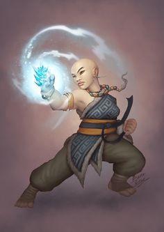 Yuzen - Brianna the winter fist by b-cesar on DeviantArt