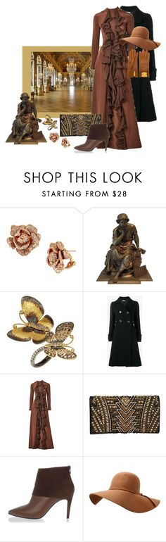 """Touring Versailles"" by christined1960 ❤ liked on Polyvore featuring Effy Jewelry, Annoushka, Miu Miu, Ronald Amey, Balmain, Pierre Hardy and Hermès"