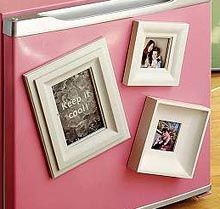 Picture frame magnets for your fridge!