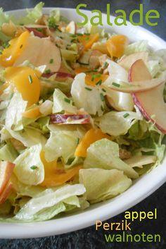 Salade met perzik en appel 2 txt