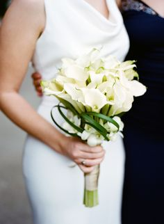 #calla-lily, #bouquet  Photography: Christina McNeill - www.christinamcneill.com  Read More: http://www.stylemepretty.com/california-weddings/2013/12/31/new-years-eve-wedding-at-legion-of-honor-san-francisco-ca/