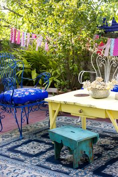 161-85 Outdoor Areas, Outdoor Rooms, Outdoor Tables, Outdoor Living, Outdoor Decor, Porches, Garden Furniture, Outdoor Furniture Sets, Dream House Interior