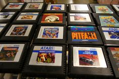 Vintage Atari Cartridges: Prices Vary, Atari buried games in the New Mexico desert which were sold for approximately  $105,000