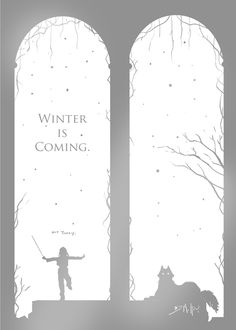from Michael J. DiMotta's Game of Thrones poster series : Stark