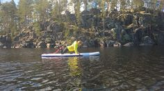 Have you tried SUP Fit & Balance lesson? #sup #fitness #jarvisydan #saimaamoments