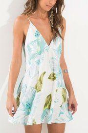 vestido curto tiras kauai