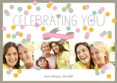 Celebrating You Mother's Day card by Smilebox.