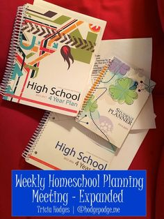 Weekly Homeschool Planning Meeting - Expanded
