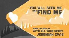 Jeremiah 29:12–14