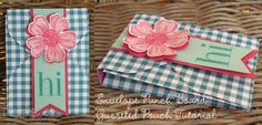 Envelope Punch Board Gusseted treat pouch (with tutorial)