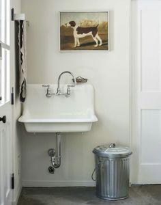 Amanda Pays And Corbin Bernsen Laundry Room Sink