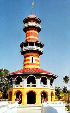 Lighthouse - Bang Pa-in, Ayutthaya by margo