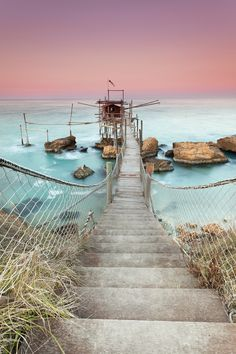 Trabocco Punta Torre | Abruzzo • traditional fishing hut