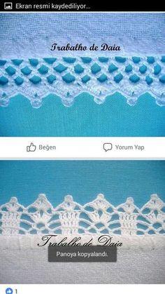 How to Crochet Wave Fan Edging Border Stitch Crochet Bedspread Pattern, Crochet Lace Edging, Crochet Doilies, Crochet Patterns, Crochet Home, Crochet Gifts, Easy Crochet, Free Crochet, Braided Scarf