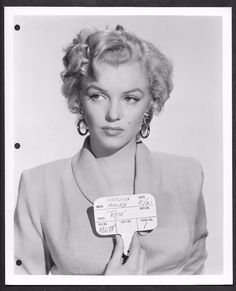Marilyn makeup/hair/wardrobe test