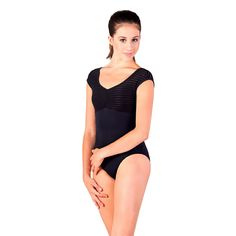 Ballett-Trikot Striped Mesh | Ladies Sports | Geschäft für Yoga, Tanz und Fitness in Köln