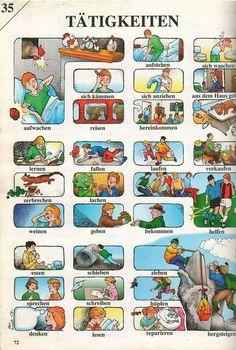 German Grammar, German Words, German Language Learning, Learn A New Language, Dual Language, German Resources, Deutsch Language, Germany Language, Preschool Colors