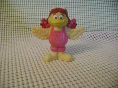"BIRDIE rubber figure 1995 McDonald's Happy Meal Toy 2.75 "" cake topper vintage   #McDonalds"