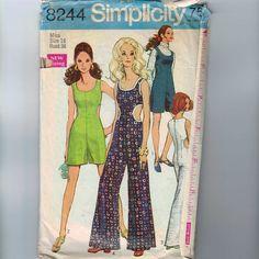 1960s Simplicity 8244