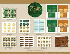 Zelda-Party Set von HelloMySweet auf Etsy
