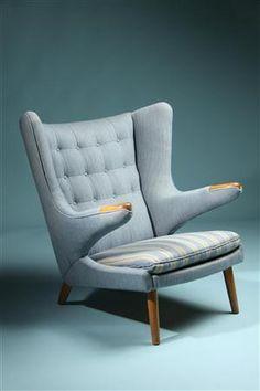 Papa Bear. Designed by Hans Wegner for AP Stolen, Denmark. 1950's. ~ Sweet Chair please follow me home :)
