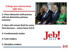 "Jeb Bush's Campaign Blueprint - US News | 10.29.15 |""A 112-page internal document provided to U.S. News includes more dirt on Marco Rubio, Iowa vote goals and a January advertising plan."""