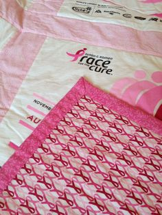 What a great idea for your old Susan G. Komen Race for the Cure t-shirts!