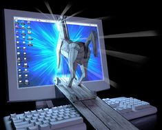 A Trojan horse is a program that hides within or looks like a legitimate program.