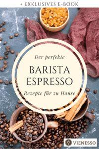 Wie bereite ich den perfekten Espresso zu?  Welche Kaffeespezialitäten mit Espresso gibt es?  Was muss ich über die Röstung und den Mahlgrad wissen?  Erfahren Sie mehr über die Zutaten und Herstellung des Espressos, tolle Zubereitungstipps und vieles mehr. Barista, Espresso, Beef, Food, Coffee Syrups, Schnapps, Knowledge, Amazing, Food Food