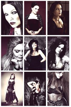 pic set screenshot from http://fuckyeahnightwish.tumblr.com/  Nightwish, Floor Jansen, Anette Olzon, Tarja Turunen