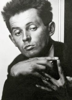 egon schiele 1914/ He looks like so many of his paintings! Look at the hands!!!!!!!!!!!