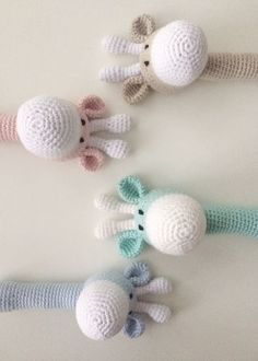 Riikka Was here: Kirahvi helistin Diy Crochet, Crochet Toys, Crochet Baby, Amigurumi Toys, Baby Crafts, Needle Felting, Baby Toys, Sewing Projects, Arts And Crafts
