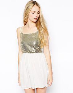 Oh My Love Sequin cami dress   Sequin & Sparkle Bridesmaid Dresses via www.southboundbride.com  #bridesmaiddresses #sequin #sparkle #bridesmaid #wedding