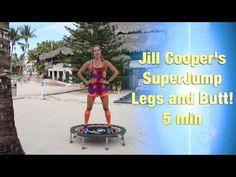 Superjump Legs and Glute Rebounding Workout 7 min Trampoline Sport, Mini Trampoline Workout, Best Trampoline, Pilates Barre, Pilates Workout, Pilates Fitness, 10 Min Workout, Workout Videos, Workout Motivation Music
